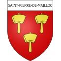 Saint-Pierre-de-Mailloc 14 ville Stickers blason autocollant adhésif