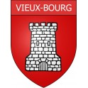 Stickers coat of arms Vieux-Bourg adhesive sticker