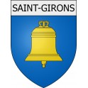Stickers coat of arms Saint-Girons adhesive sticker