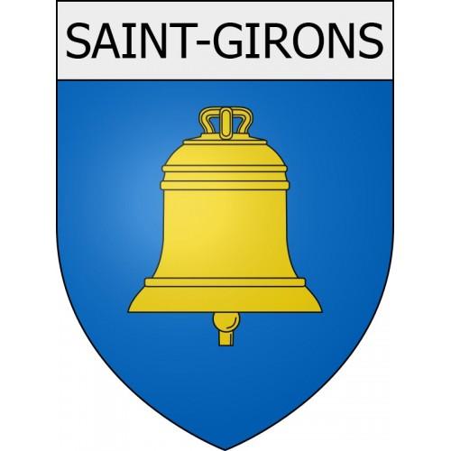 saint-girons 09 ville Stickers blason autocollant adhésif
