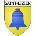 Stickers coat of arms Saint-Lizier adhesive sticker
