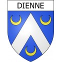 Stickers coat of arms Dienne adhesive sticker