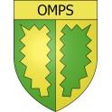 Adesivi stemma Omps adesivo