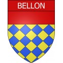Stickers coat of arms Bellon adhesive sticker