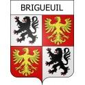Adesivi stemma Brigueuil adesivo