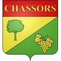Stickers coat of arms Chassors adhesive sticker