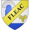 Adesivi stemma Fléac adesivo