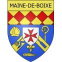 Maine-de-Boixe 16 ville Stickers blason autocollant adhésif
