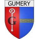Gumery 10 ville Stickers blason autocollant adhésif