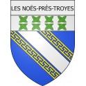 Les Noës-près-Troyes 10 ville Stickers blason autocollant adhésif
