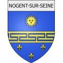 Nogent-sur-Seine 10 ville Stickers blason autocollant adhésif