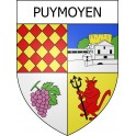 Stickers coat of arms Puymoyen adhesive sticker