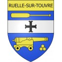 Stickers coat of arms Ruelle-sur-Touvre adhesive sticker