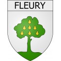 Stickers coat of arms Fleury adhesive sticker
