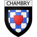 Stickers coat of arms Chambry adhesive sticker