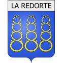 Stickers coat of arms La Redorte adhesive sticker