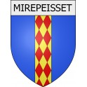 Stickers coat of arms Mirepeisset adhesive sticker