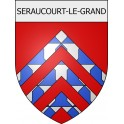 Stickers coat of arms Braine adhesive sticker
