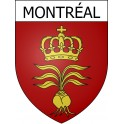 Stickers coat of arms Montréal adhesive sticker