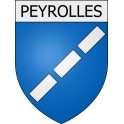 Stickers coat of arms Peyrolles adhesive sticker