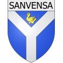 Sanvensa 12 ville Stickers blason autocollant adhésif