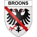Broons 22 ville Stickers blason autocollant adhésif