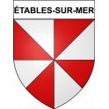 Stickers coat of arms Bégard adhesive sticker