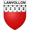 Stickers coat of arms Lanvollon adhesive sticker