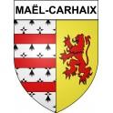 Pegatinas escudo de armas de Bégard adhesivo de la etiqueta engomada