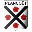 Plancoët 22 ville Stickers blason autocollant adhésif