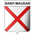 Stickers coat of arms Saint-Maudan adhesive sticker