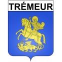 Stickers coat of arms Trémeur adhesive sticker