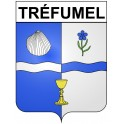 Stickers coat of arms Tréfumel adhesive sticker