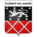 Stickers coat of arms Pléneuf-Val-André adhesive sticker