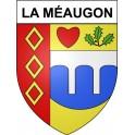 La Méaugon 22 ville Stickers blason autocollant adhésif