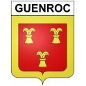 Guenroc 22 ville Stickers blason autocollant adhésif