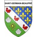 Saint-Germain-Beaupré 23 ville Stickers blason autocollant adhésif