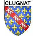 Stickers coat of arms Clugnat adhesive sticker