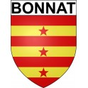 Stickers coat of arms Bonnat adhesive sticker