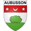 Stickers coat of arms Aubusson adhesive sticker