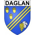 Stickers coat of arms Daglan adhesive sticker