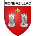 Stickers coat of arms Monbazillac adhesive sticker