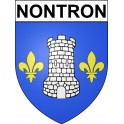 Stickers coat of arms Nontron adhesive sticker