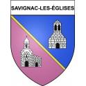 Stickers coat of arms Savignac-les-églises adhesive sticker
