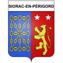 Stickers coat of arms Siorac-en-Périgord adhesive sticker