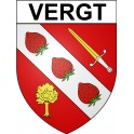 Stickers coat of arms Vergt adhesive sticker