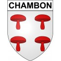 Stickers coat of arms Chambon adhesive sticker