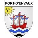 Port-d'Envaux 17 ville Stickers blason autocollant adhésif