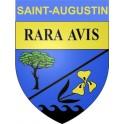 Saint-Augustin 17 ville Stickers blason autocollant adhésif