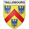 Taillebourg 17 ville Stickers blason autocollant adhésif